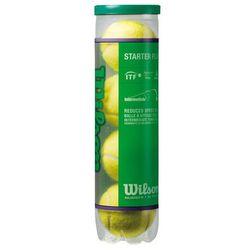 Piłki tenis ziemny Wilson Starter Play 4 sztuki 137400