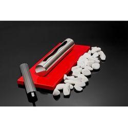 Biokominek Globmetal stołowy Stainless czerwony połysk
