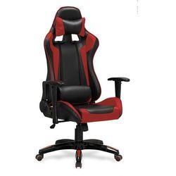 Fotel gamingowy HALMAR DEFENDER - czerwony