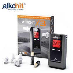 Alkomat ALKOHIT X3 Elektorchemiczny + Kalibracje + Etui + Gratis