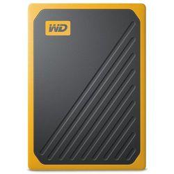 Dysk WD My Passport Go 500GB SSD Czarno-żółty