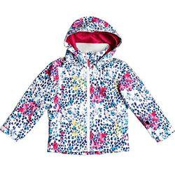 Roxy Mini Jetty Snow Jacket Girls, kolorowy 6-7 Y | 116-122 2021 Kurtki narciarskie