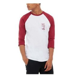 koszulka VANS - Palm Desert Ragla White/Rhumba (TD3) rozmiar: XL