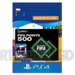 FIFA 21 500 Punktów [kod aktywacyjny] PS4