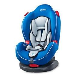 Fotelik samochodowy Sport Classic 9-25kg Caretero + GRATIS (niebieski)