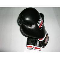 Rękawice do walki, Rękawice bokserskie MASTERS RBT-10 - czarno-czerwono-biały
