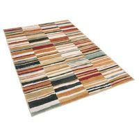 Dywany, Dywan kolorowy 140 x 200 cm krótkowłosy FATSA