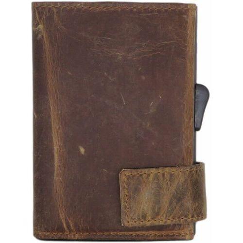 Etui i pokrowce, SecWal SecWal 2 Kreditkartenetui Geldbörse RFID Leder 9 cm braun hunter ZAPISZ SIĘ DO NASZEGO NEWSLETTERA, A OTRZYMASZ VOUCHER Z 15% ZNIŻKĄ