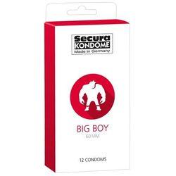 Duże prezerwatywy Secura BigBoy 60mm 12szt. 416325