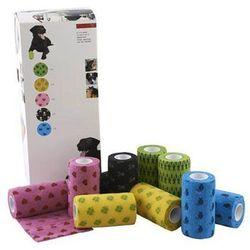 KRUUSE Fun-Flex bandaż elastyczny, mix wzorów i kolorów, 7,5 cm, 10 szt.