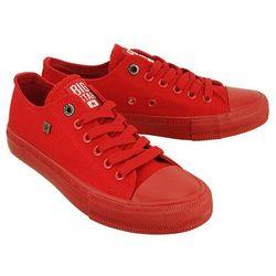 BIG STAR AA274007 czerwony, półtrampki młodzieżowe - Czerwony