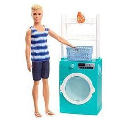 Barbie Ken domowe zaj�cia Mattel (pralka)