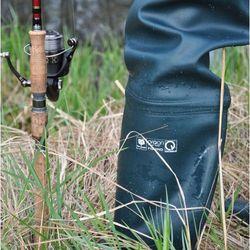 Spodniobuty z prawdziwej gumy elastyczne FISHING ART:11 47 Zielone
