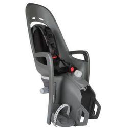 hamax Fotelik rowerowy Zenith Relax z adapterem na bagażnik szary/czarny