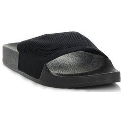 Uniwersalne Klapki Damskie firmy Ideal Shoes Czarne (kolory)