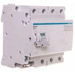 Rozłącznik izolacyjny 4-bieg 40A ze stykiem pomocniczym, SA440 HAGER