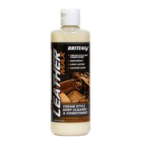 Środki do czyszczenia tapicerki samochodowe, Britemax Leather Max - Cleaner & Conditioner 473ml For both Leather & Vinyl Trim