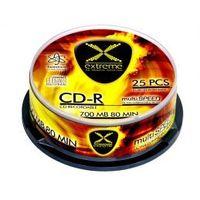 Pozostałe nośniki danych, CD-R EXTREME 2035 (700MB+ 52x+ 25szt.+ Cake)- Zamów do 16:00, wysyłka kurierem tego samego dnia!