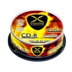 CD-R EXTREME 2035 (700MB+ 52x+ 25szt.+ Cake)- Zamów do 16:00, wysyłka kurierem tego samego dnia!