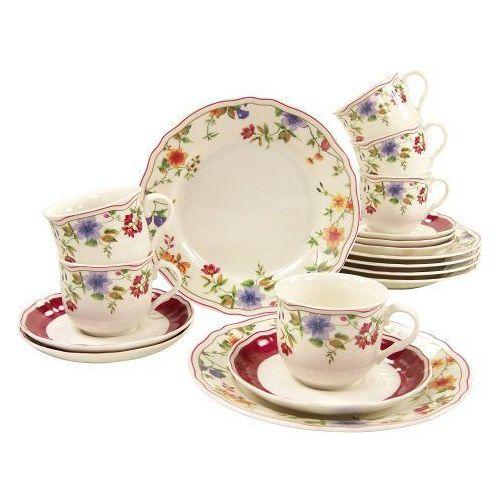 Serwisy do kawy i herbaty, Creatable Cornwall Garden Serwis kawowy 18el