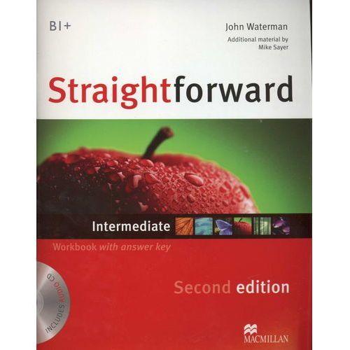 Książki do nauki języka, Straightforward Intermediate 2ed.WB with key /CD gratis/ (opr. miękka)
