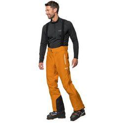 Spodnie narciarskie męskie EXOLIGHT MOUNTAIN PANTS M rusty orange - 52