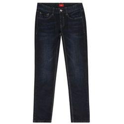 s.Oliver spodnie dżinsowe chłopięce 134 niebieskie