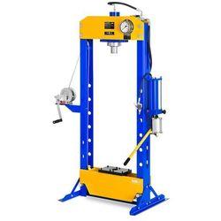 MSW Prasa hydrauliczno-pneumatyczna - 30 t - 666 bar MSW-WP-30T-P - 3 LATA GWARANCJI