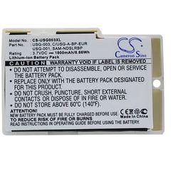 Nintendo DS / USG-003 1800mAh 6.66Wh Li-Ion 3.7V powiększony biały (Cameron Sino)