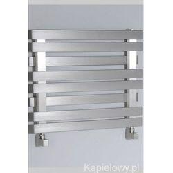 LARIS grzejnik łazienkowy 600x430mm ze stali nierdzewnej 210W 0311-01