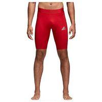 Pozostała odzież sportowa, Podspodenki męskie adidas Alphaskin Sport Short Tight czerwone CW9460