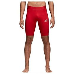 Podspodenki męskie adidas Alphaskin Sport Short Tight czerwone CW9460