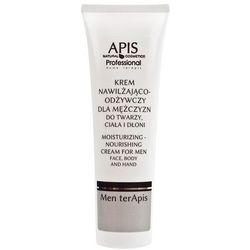 APIS Krem dla mężczyzn nawilżająco-odżywczy do twarzy, ciała i dłoni 100ml