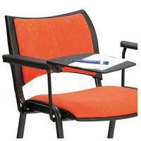 Biurka i stoliki, Plastikowy stolik z podłokietnikiem do krzeseł konferencyjnych SMART, ISO, VIVA, SMILE