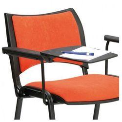 Plastikowy stolik z podłokietnikiem do krzeseł konferencyjnych SMART, ISO, VIVA, SMILE