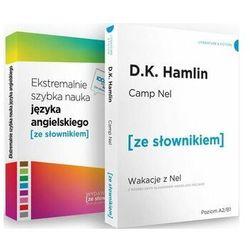 Camp Nel / Ekstremalnie szybka nauka języka angielskiego. Pakiet - książka