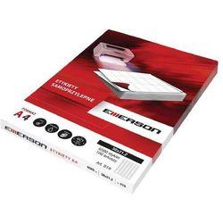 Etykiety samoprzylepne A4 Emerson, nr 21, wymiary 70 x 50,8 mm, opakowanie 100 arkuszy po 15 etykiet - Super Cena - Autoryzowana dystrybucja - Szybka dostawa - Porady - Wyceny - Hurt