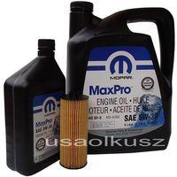 Oleje silnikowe, Olej MOPAR 5W30 oraz oryginalny filtr Jeep Wrangler 3,6 V6 -2013