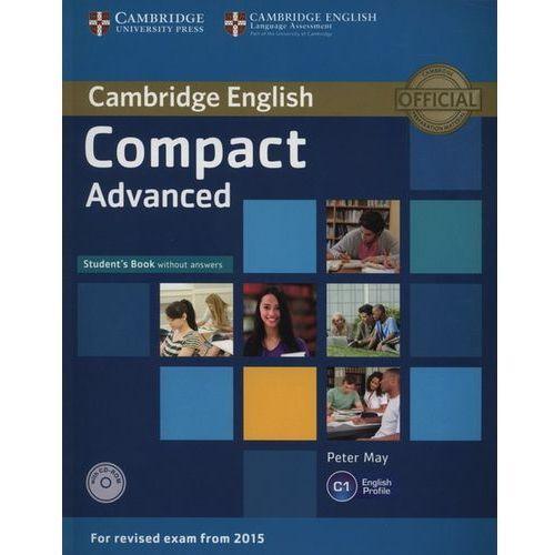 Książki medyczne, Compact Advanced. Podręcznik bez Klucza + CD (opr. miękka)