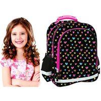 Tornistry i plecaki szkolne, Plecak 15B DF11 Future serduszka