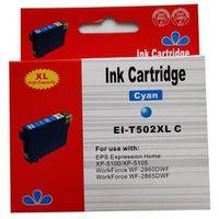 Tusze do drukarek, zastępczy atrament Epson 502XL [C13T02W24010] cyan