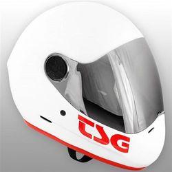 kask TSG - Pass Solid Color Gloss White (332) rozmiar: XL