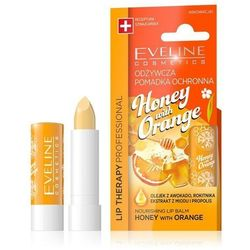 Eveline Lip Therapy Odżywcza Pomadka Ochronna Honey & Orange