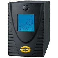 Zasilacze UPS, UPS Orvaldi 700 LCD (1070VC) Darmowy odbiór w 19 miastach!
