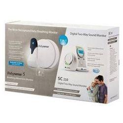 Monitor oddechu Hisense Babysense Bundle + niania Babysense SC-210