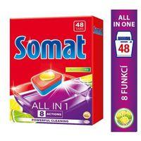 Kostki do zmywarek, Somat All in 1 Lemon & Lime Tabletki do mycia naczyń w zmywarkach 864 g (48 sztuk)