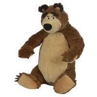 Pozostałe zabawki, Masza, Pluszowy niedźwiedź 25 cm siedzący