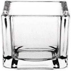 Świecznik szklany | 6 szt. | 6x6x(H)5cm