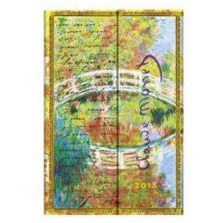 Kalendarz książkowy mini 2018 12M Monet, Bridge