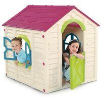 Domki i namioty dla dzieci, Domek dla dzieci Keter Rancho Playhouse kremowy - Transport GRATIS! - BEZPŁATNY ODBIÓR: WROCŁAW!